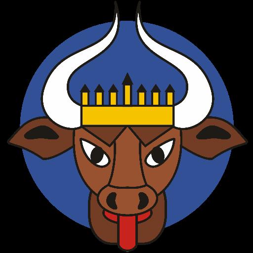 Icon der HSG Uni Rostock mit blauem Hintergrund